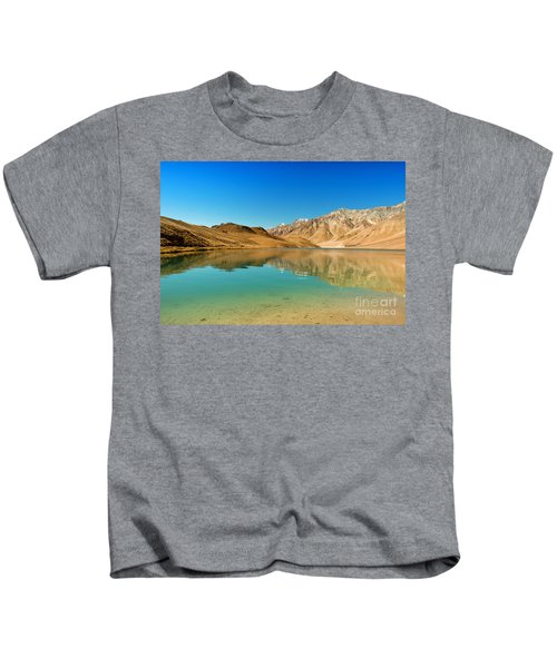 Chandratal Lake Kids T-Shirt
