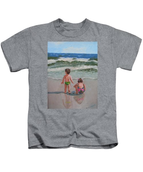 Children On The Beach Kids T-Shirt