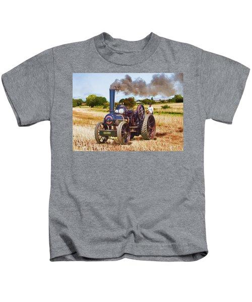 Fowler Ploughing Engine Kids T-Shirt