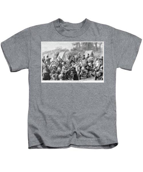 Klondike Gold Rush, 1898 Kids T-Shirt