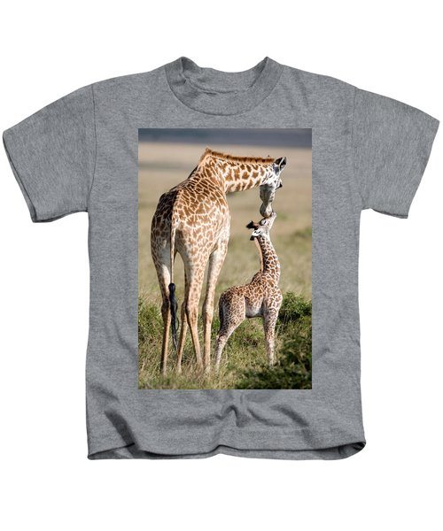 Masai Giraffe Giraffa Camelopardalis Kids T-Shirt