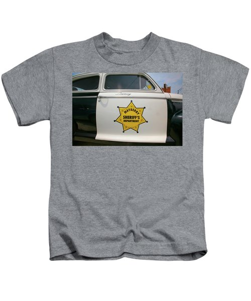 d2bb0c09 Mayberry Sheriffs Department Police Car Kids T-Shirt