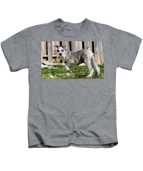 Miniature Schnauzer Kids T-Shirt