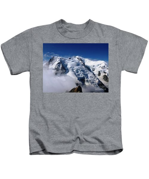 Mont Blanc - France Kids T-Shirt