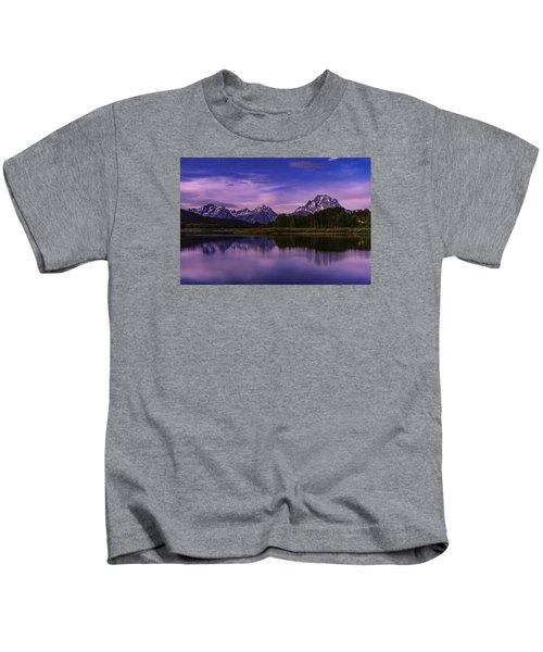 Moonlight Bend Kids T-Shirt by Chad Dutson