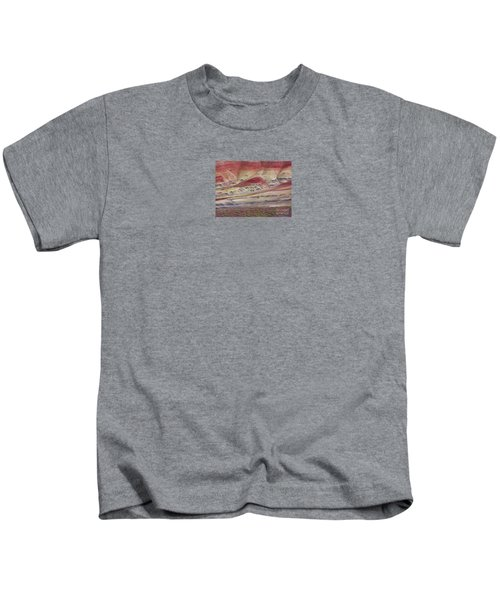 John Day Fossil Beds Painted Hills Kids T-Shirt