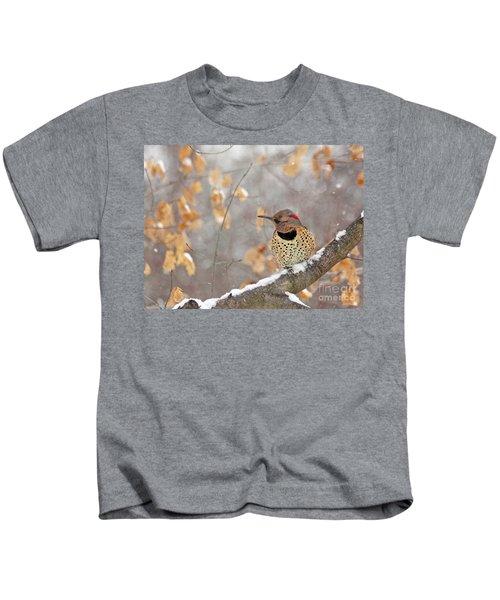 Northern Flicker Woodpecker Kids T-Shirt