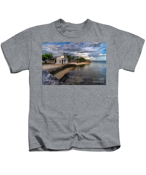 Pandanon Island Chapel Kids T-Shirt