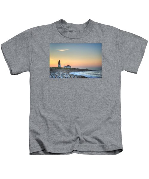 Point Judith Lighthouse Kids T-Shirt