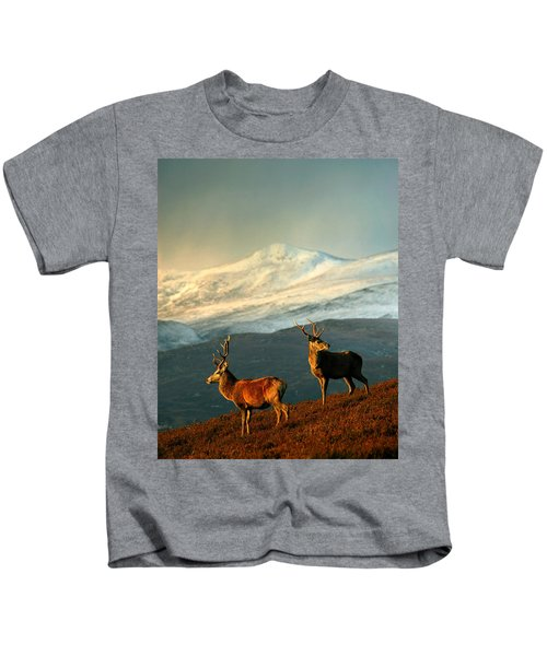 Red Deer Stags Kids T-Shirt