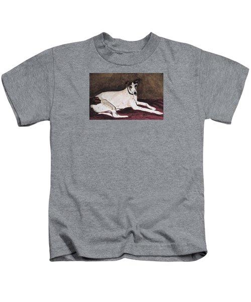 Resting Gracefully Kids T-Shirt