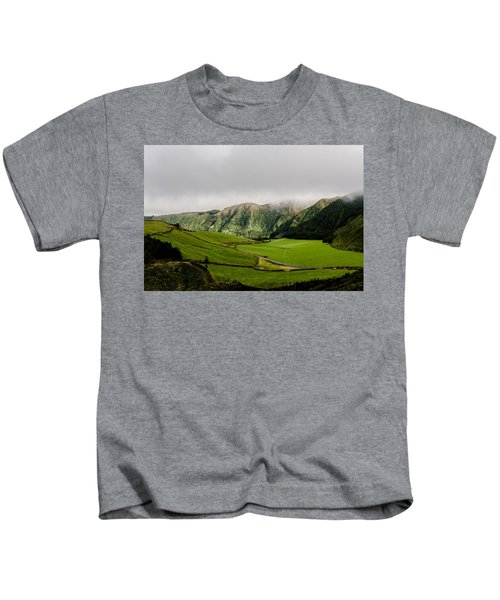 Road Over Valley Kids T-Shirt