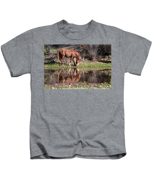 Salt River Wild Horse Kids T-Shirt