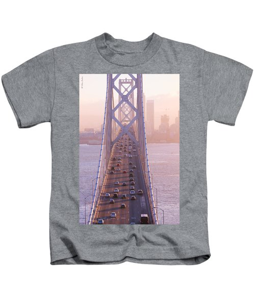 San Francisco Bay Bridge Kids T-Shirt