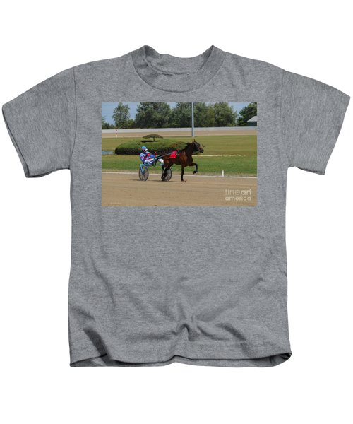 D39w-399 Scioto Downs Kids T-Shirt