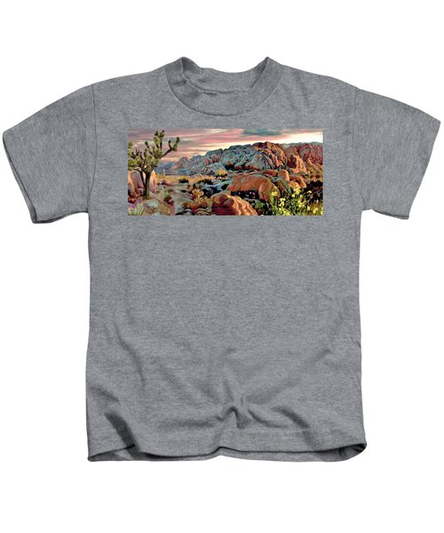 Twilight At Joshua 2 Kids T-Shirt