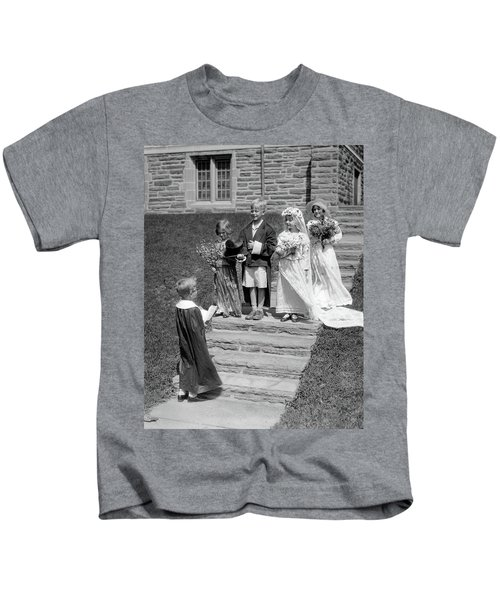 1930s Children Boys And Girls Playing Kids T-Shirt