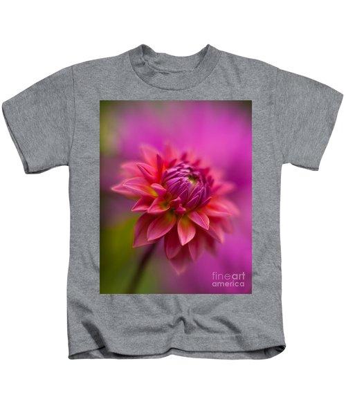 Dahlia Burst Kids T-Shirt