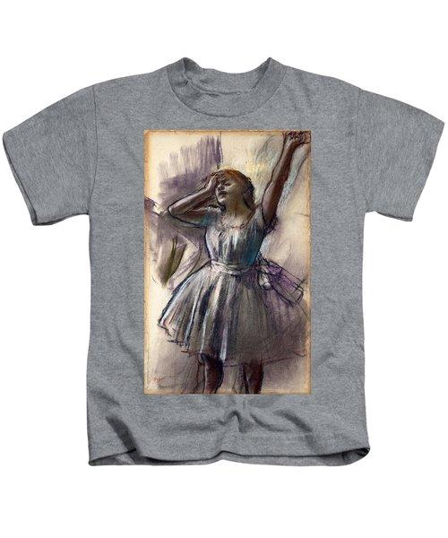 Dancer Stretching Kids T-Shirt