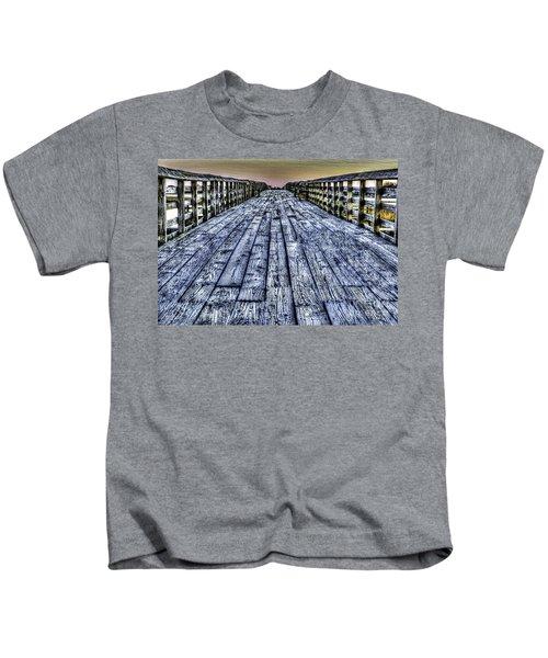 Old Pitt St Bridge Kids T-Shirt