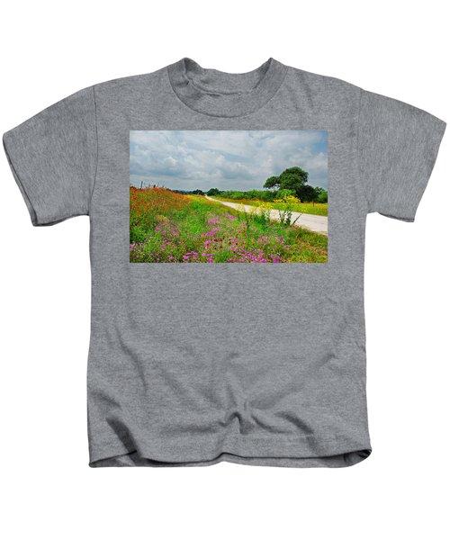 Wildflower Wonderland Kids T-Shirt