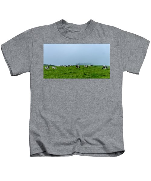 Cows In The Field Kids T-Shirt