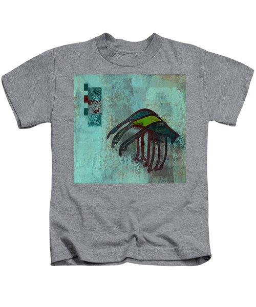 3 Egrets - J076073091a2bl Kids T-Shirt