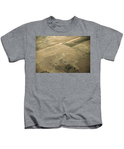 Maine Farmland, 1940 Kids T-Shirt