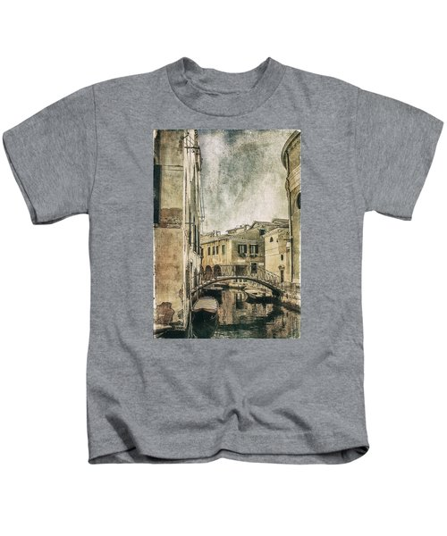 Venice Back In Time Kids T-Shirt