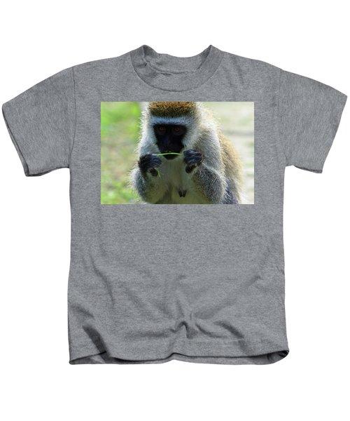 Vervet Monkey Kids T-Shirt