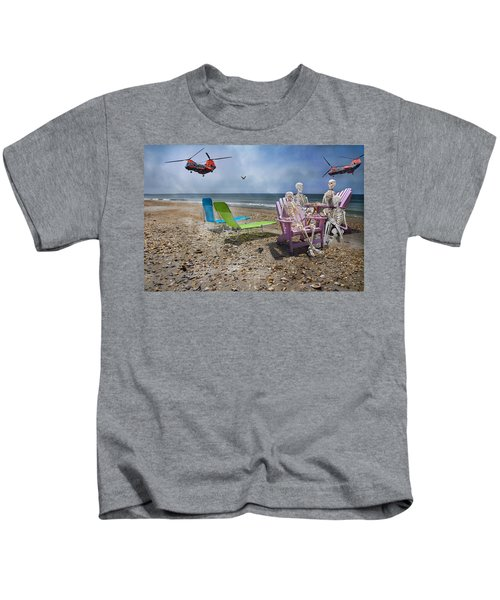 Search Party Kids T-Shirt by Betsy Knapp