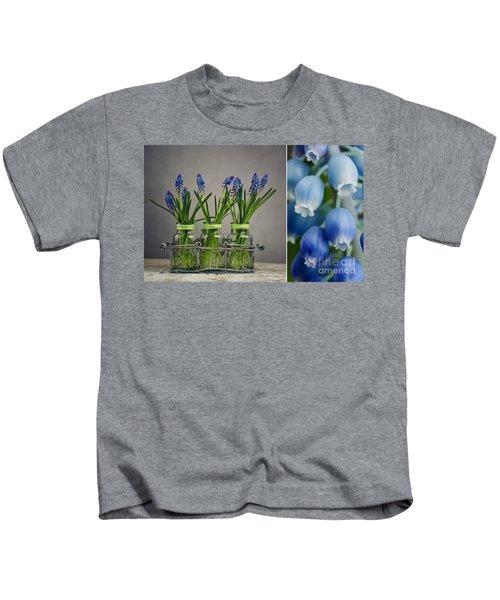 Hyacinth Still Life Kids T-Shirt
