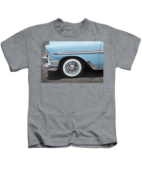 1956 Chevrolet Bel Air Convertible Kids T-Shirt