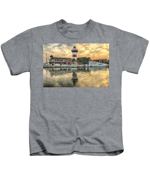 Lighthouse On Hilton Head Island Kids T-Shirt