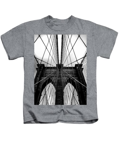 A Brooklyn Perspective Kids T-Shirt by Az Jackson