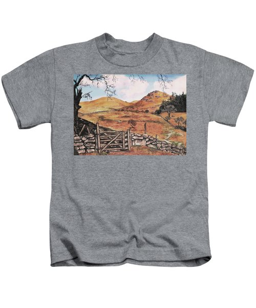 A Day In The Country Kids T-Shirt