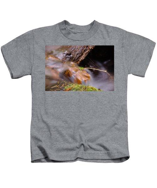 A Leaf Captured Kids T-Shirt