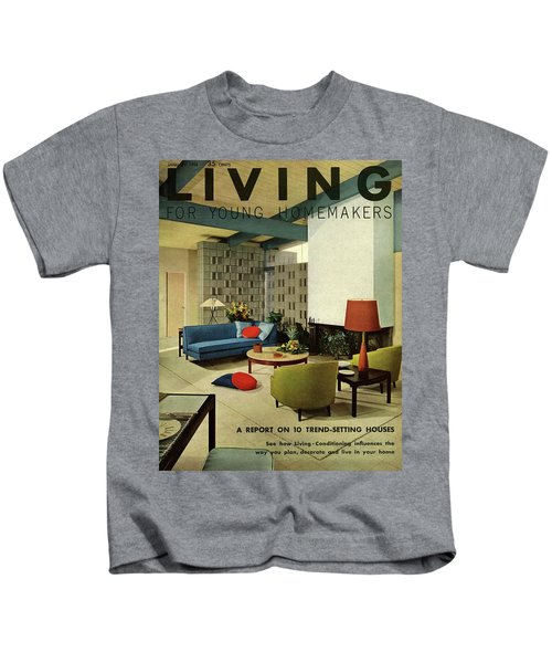 A Living Room With Carpeting By Callaway Kids T-Shirt