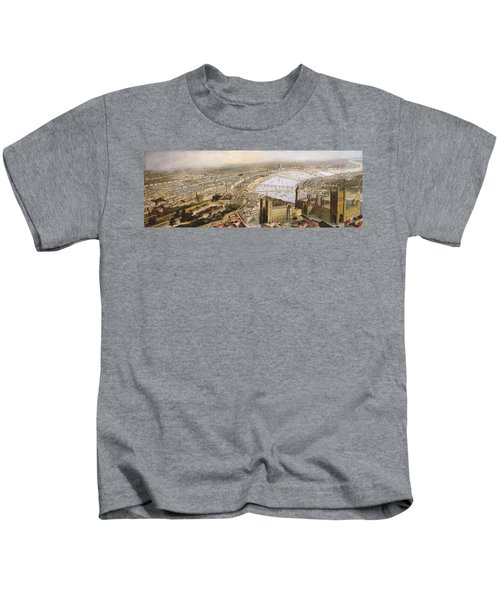 A Panoramic View Of London Kids T-Shirt