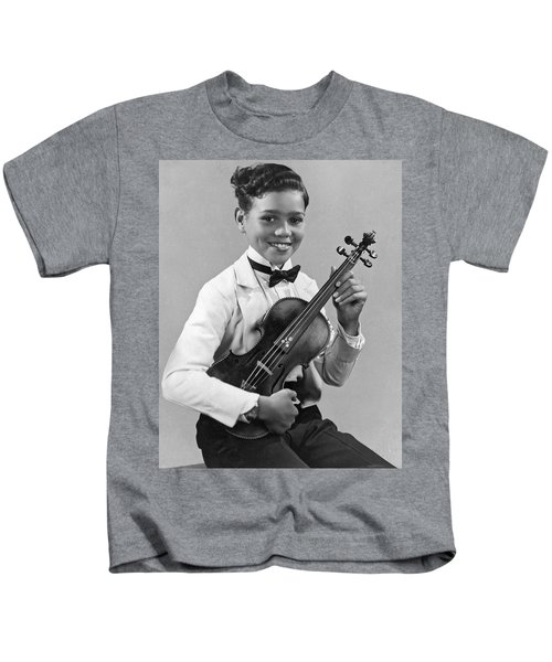 A Proud And Elegant Violinist Kids T-Shirt