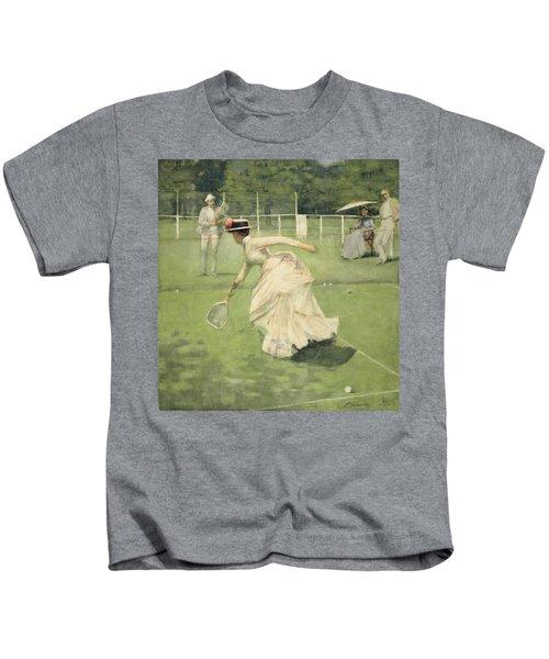 A Rally, 1885 Kids T-Shirt