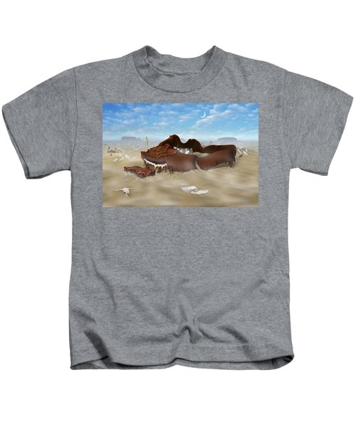 A Slow Death In Piano Valley Kids T-Shirt