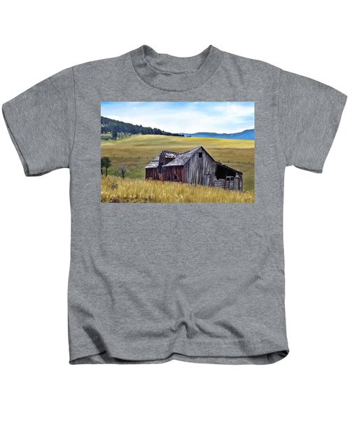 A Time In Montana Kids T-Shirt