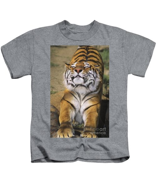 A Tough Day Siberian Tiger Endangered Species Wildlife Rescue Kids T-Shirt