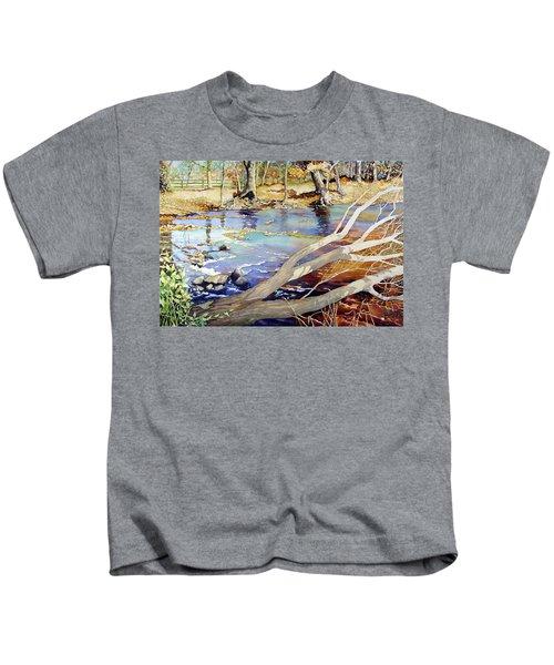 A Tree Falls Kids T-Shirt