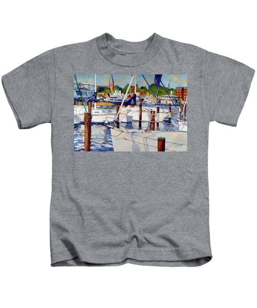 A View From The Pier Kids T-Shirt