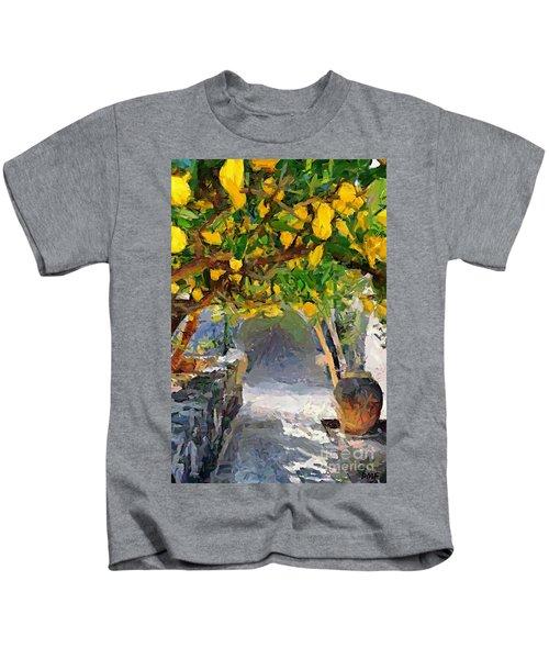 A Voult Of Lemons Kids T-Shirt