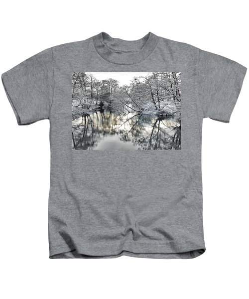 A Winter Scene Kids T-Shirt