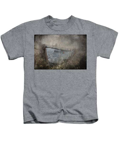 Abandoned On Sugar Island Michigan Kids T-Shirt