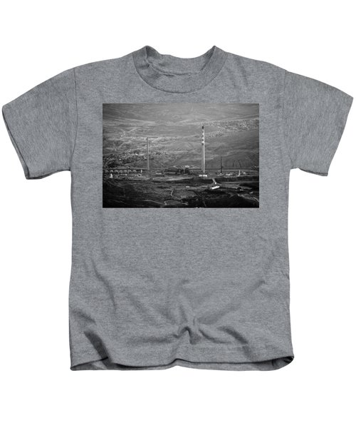 Abandoned Smokestacks Kids T-Shirt